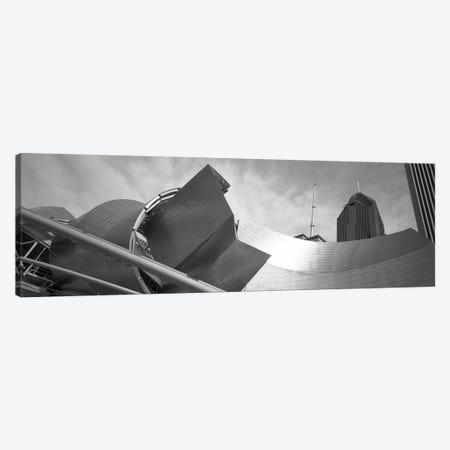 Low Angle View Of Buildings, Pritzker Pavilion, Millennium Park, Chicago, Illinois, USA Canvas Print #PIM11208} by Panoramic Images Canvas Art Print