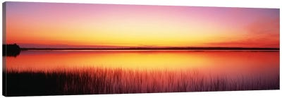 Sunrise Lake Michigan Door County WI Canvas Print #PIM1122