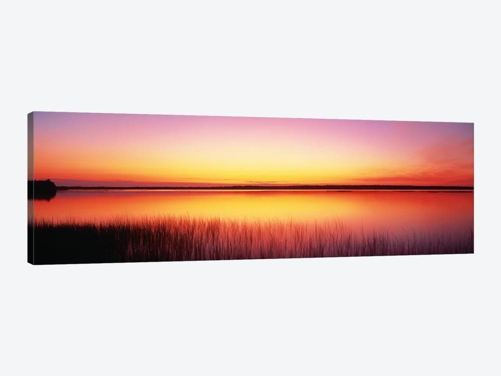 Sunrise Lake Michigan Door County WI by Panoramic Images 1-piece Art Print