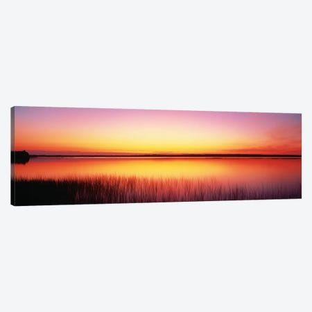 Sunrise Lake Michigan Door County WI Canvas Print #PIM1122} by Panoramic Images Canvas Wall Art