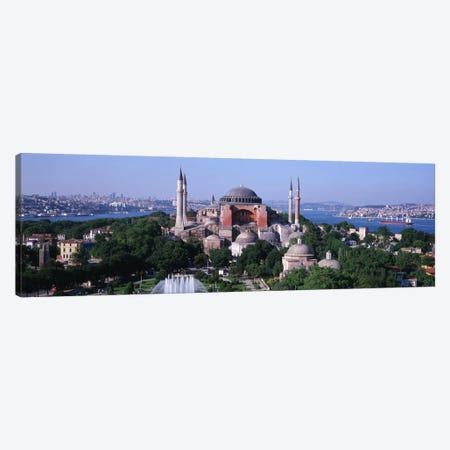 Hagia Sophia, Istanbul, Turkey Canvas Print #PIM1127} by Panoramic Images Art Print