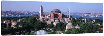 Hagia Sophia, Istanbul, Turkey Canvas Print #PIM1127