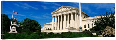 US Supreme Court Building, Washington DC, District Of Columbia, USA Canvas Print #PIM1132