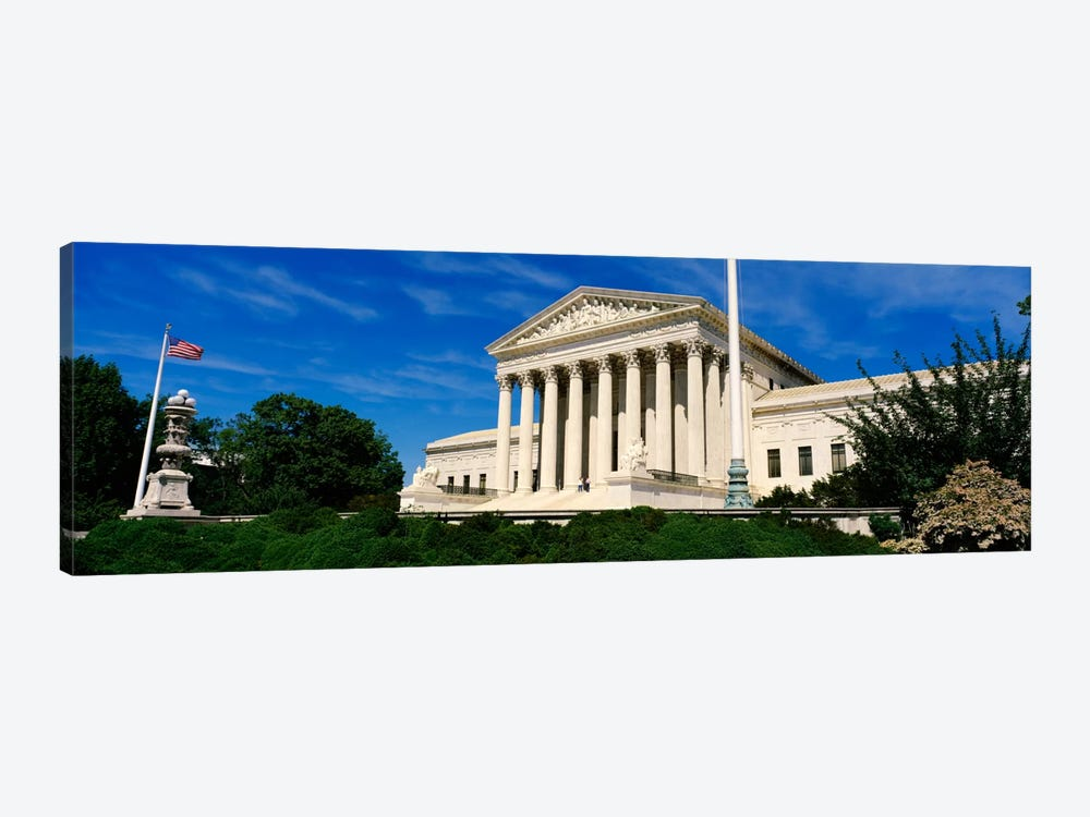 US Supreme Court Building, Washington DC, District Of Columbia, USA by Panoramic Images 1-piece Canvas Artwork