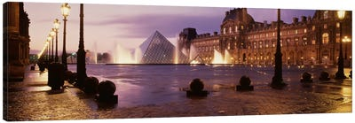 Louvre Museum Paris France Canvas Print #PIM1134