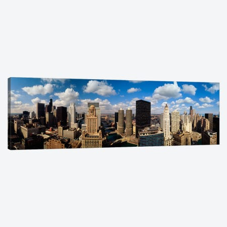Skyline From Lake Michigan, Chicago, Illinois, USA #2 Canvas Print #PIM113} by Panoramic Images Canvas Artwork