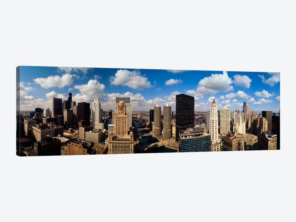 Skyline From Lake Michigan, Chicago, Illinois, USA #2 by Panoramic Images 1-piece Canvas Art Print