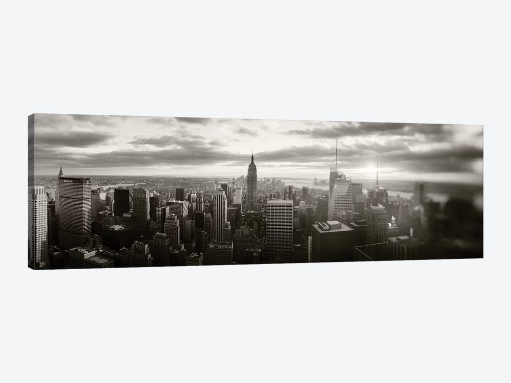 Manhattan Cityscape, Manhattan, New York City, New York State, USA by Panoramic Images 1-piece Canvas Artwork