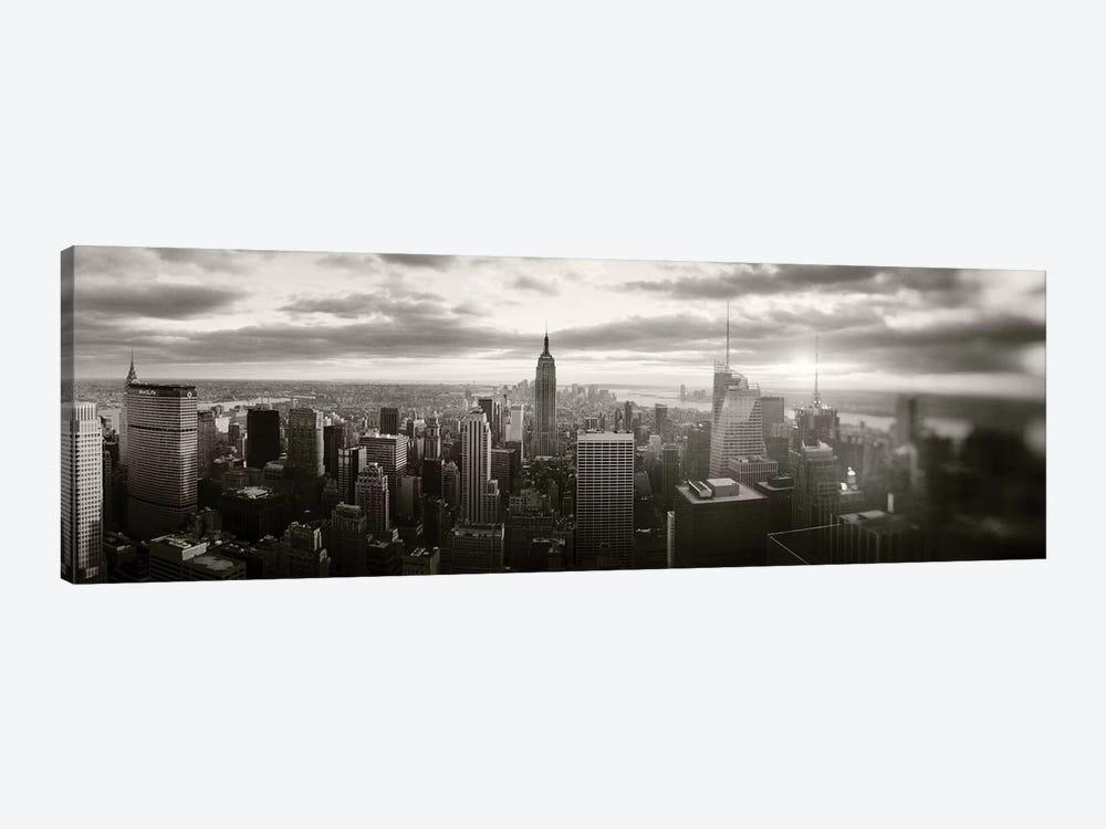 Manhattan Cityscape, Manhattan, New York City, New York State, USA by Panoramic Images 1-piece Canvas Artwork