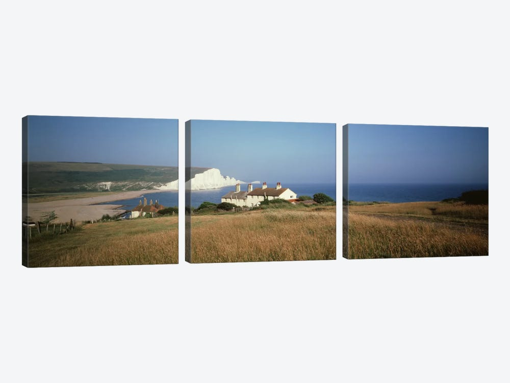 Seven Sisters Dover England by Panoramic Images 3-piece Canvas Artwork
