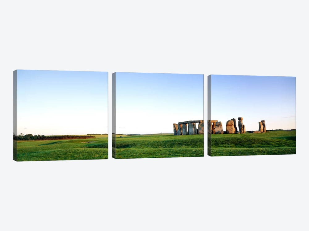 Stonehenge Wiltshire England by Panoramic Images 3-piece Art Print