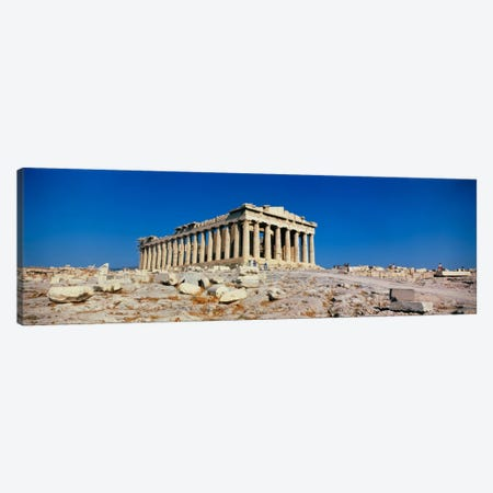 Parthenon Athens Greece Canvas Print #PIM1144} by Panoramic Images Canvas Print