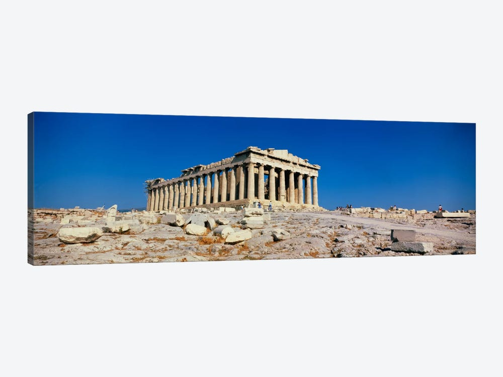 Parthenon Athens Greece by Panoramic Images 1-piece Canvas Art Print