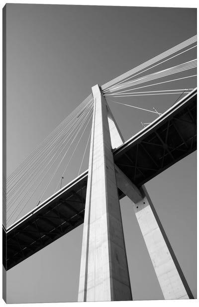 Low angle view of a bridge 2, Dubrovacka River, Dubrovnik, Dalmatia, Croatia Canvas Print #PIM11462