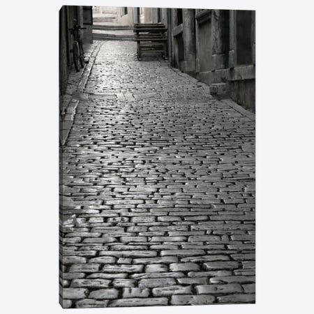 Cobbles street, Rovinj, Istria, Croatia Canvas Print #PIM11463} by Panoramic Images Canvas Art Print