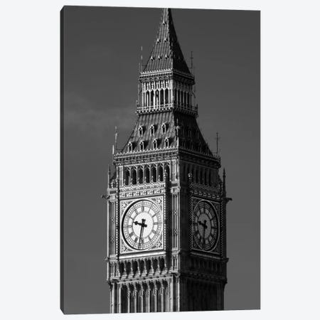 Low angle view of a clock tower, Big Ben, Houses Of Parliament, City Of Westminster, London, England Canvas Print #PIM11464} by Panoramic Images Canvas Art