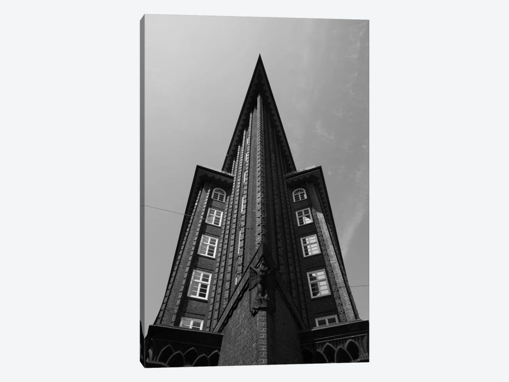 Low angle view of an office building, Chilehaus, Hamburg, Germany by Panoramic Images 1-piece Canvas Art