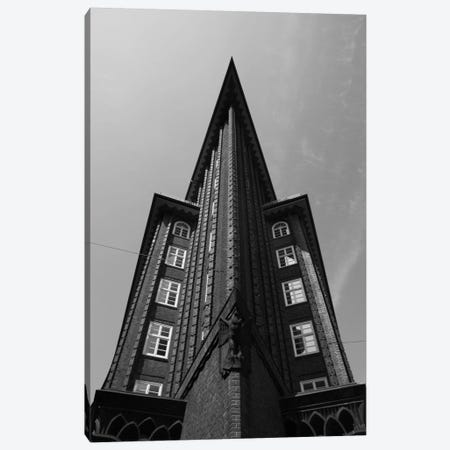 Low angle view of an office building, Chilehaus, Hamburg, Germany Canvas Print #PIM11487} by Panoramic Images Canvas Art