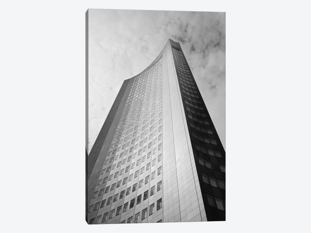 Low angle view of a building, City-Hochhaus, Leipzig, Saxony, Germany by Panoramic Images 1-piece Canvas Artwork