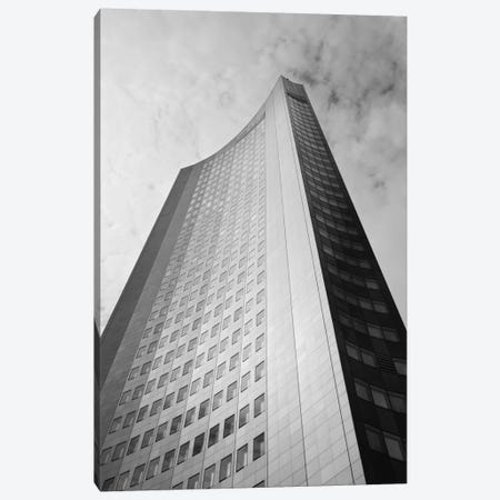 Low angle view of a building, City-Hochhaus, Leipzig, Saxony, Germany Canvas Print #PIM11489} by Panoramic Images Canvas Art Print