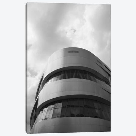 Low angle view of an automotive museum 2, Mercedes-Benz Museum, Stuttgart, Baden-Wurttemberg, Germany Canvas Print #PIM11494} by Panoramic Images Canvas Print
