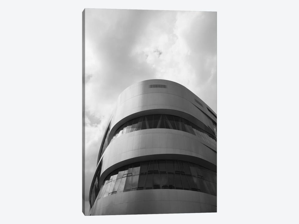 Low angle view of an automotive museum 2, Mercedes-Benz Museum, Stuttgart, Baden-Wurttemberg, Germany by Panoramic Images 1-piece Canvas Wall Art