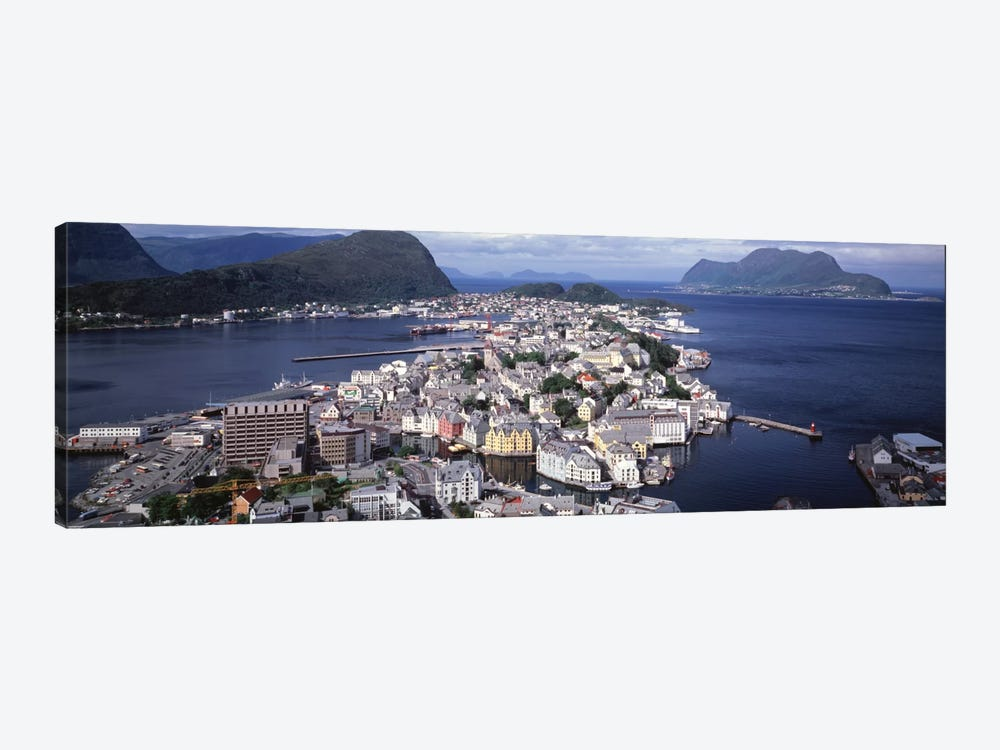 Cityscape Alesund Norway by Panoramic Images 1-piece Canvas Artwork