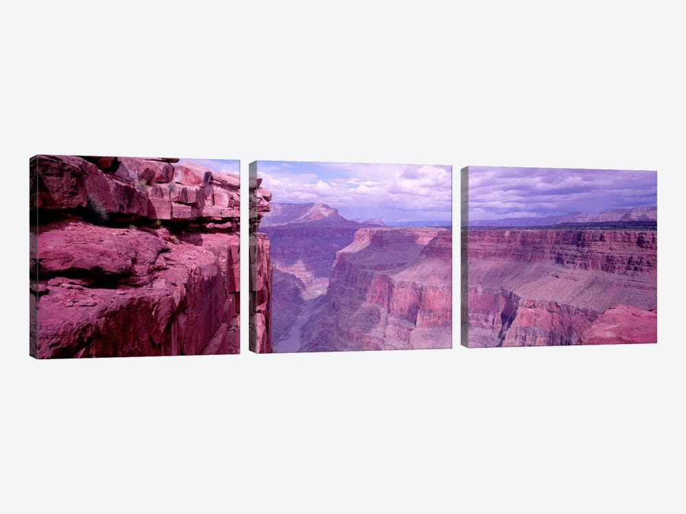 Grand Canyon, Arizona, USA by Panoramic Images 3-piece Canvas Wall Art