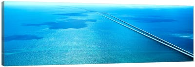 Seven Miles Bridge Florida Keys FL USA Canvas Print #PIM1151