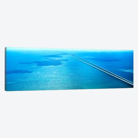 Seven Miles Bridge Florida Keys FL USA Canvas Print #PIM1151} by Panoramic Images Canvas Print