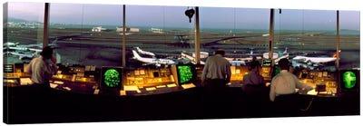 San Francisco Intl Airport Control Tower San Francisco CA Canvas Print #PIM1154
