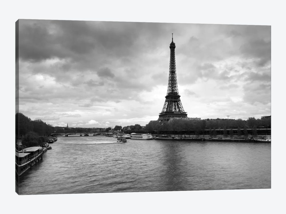 Eiffel Tower from Pont De Bir-Hakeim, Paris, Ile-De-France, France by Panoramic Images 1-piece Art Print