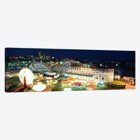 Amusement Park Ontario Toronto Canada Canvas Print #PIM1155} by Panoramic Images Canvas Art