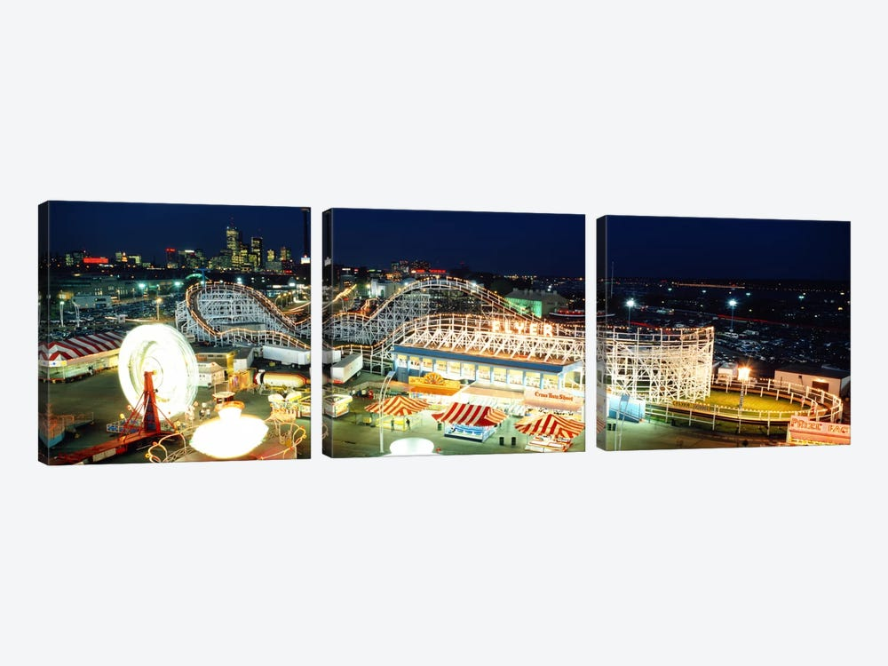 Amusement Park Ontario Toronto Canada by Panoramic Images 3-piece Canvas Print
