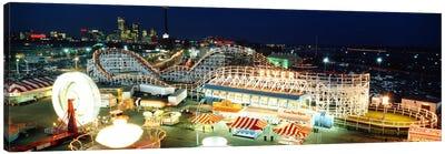 Amusement Park Ontario Toronto Canada Canvas Art Print
