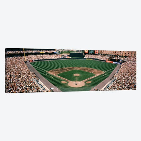 Camden Yards Baseball Field Baltimore MD Canvas Print #PIM1157} by Panoramic Images Canvas Art