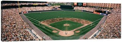 Camden Yards Baseball Field Baltimore MD Canvas Art Print