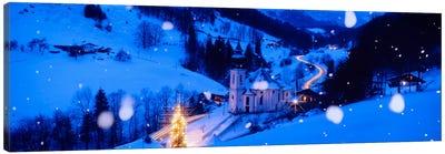 Maria Gern Church Berchtesgaden Bavaria Germany Canvas Print #PIM1158