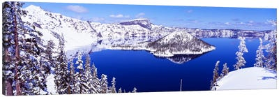 USA, Oregon, Crater Lake National Park Canvas Art Print