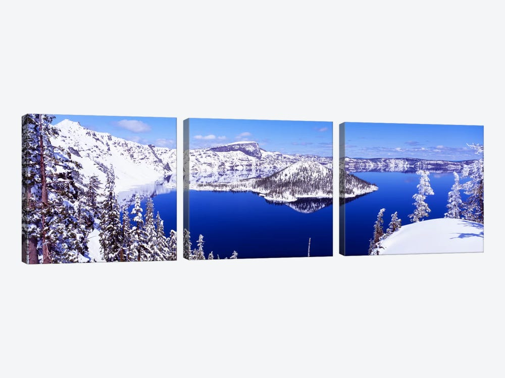 USA, Oregon, Crater Lake National Park by Panoramic Images 3-piece Art Print