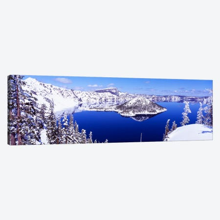 USA, Oregon, Crater Lake National Park Canvas Print #PIM115} by Panoramic Images Canvas Print
