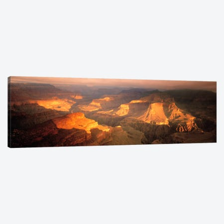 Hopi Point Canyon Grand Canyon National Park AZ USA Canvas Print #PIM1162} by Panoramic Images Canvas Art