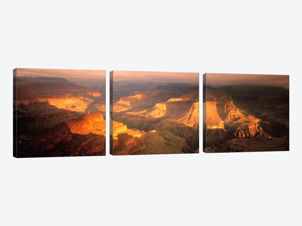 Hopi Point Canyon Grand Canyon National Park AZ USA 3-piece Art Print