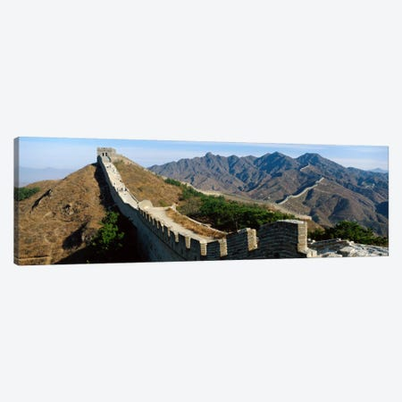 Great Wall Of China Canvas Print #PIM1164} by Panoramic Images Canvas Print