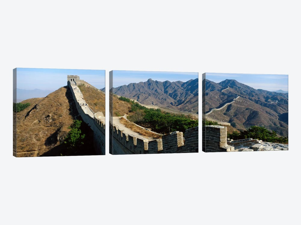 Great Wall Of China by Panoramic Images 3-piece Art Print