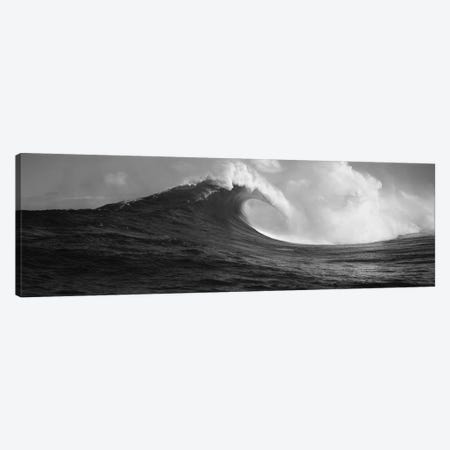 Waves in the sea, Maui, Hawaii, USA Canvas Print #PIM11700} by Panoramic Images Canvas Wall Art