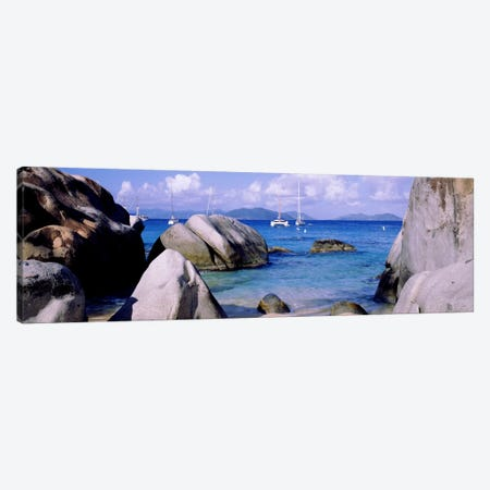 The Baths, Virgin Gorda, British Virgin Islands Canvas Print #PIM1171} by Panoramic Images Canvas Print