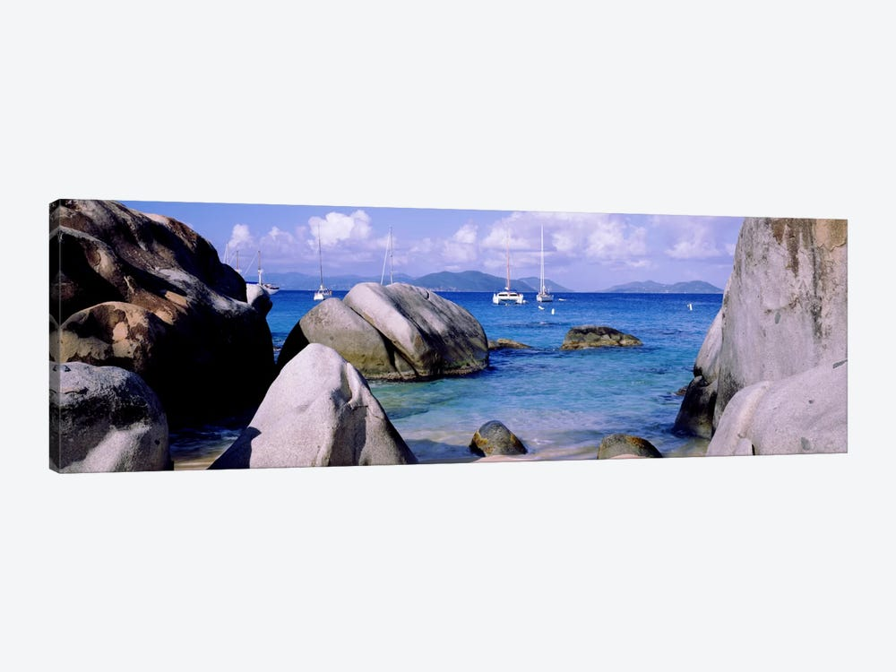 The Baths, Virgin Gorda, British Virgin Islands by Panoramic Images 1-piece Canvas Art Print