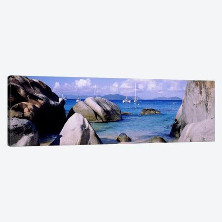 The Baths, Virgin Gorda, British Virgin Islands Canvas Print #PIM1171} by Panoramic Images Canvas Print