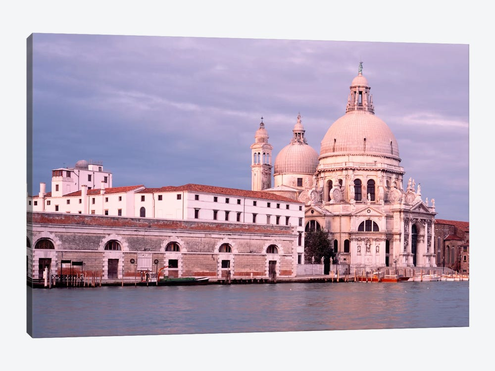 Santa Maria della Salute Grand Canal Venice Italy by Panoramic Images 1-piece Canvas Art